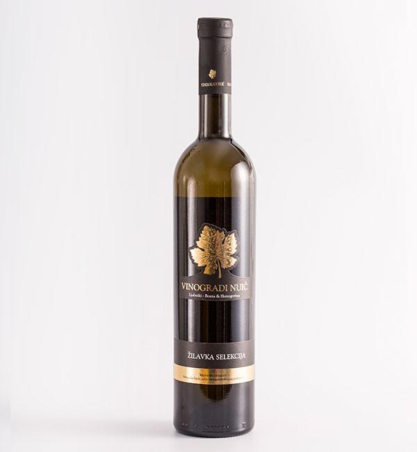 Žilavka selekcija bijelo vino